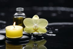 Candle wallpaper Royalty Free Stock Images