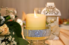 Wedding Candle Stock Image