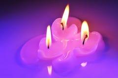 Candlehearts Stock Image