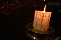 candlelight imagem de stock royalty free