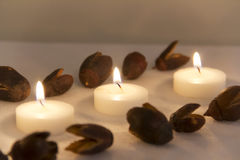 candlelight στοκ εικόνα με δικαίωμα ελεύθερης χρήσης