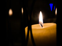 candlelight Photographie stock libre de droits