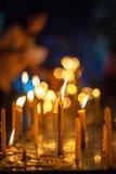 candlelight Imagen de archivo libre de regalías