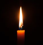 Candlelight. Royalty Free Stock Photography