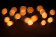 Candlelight blur Royalty Free Stock Photography