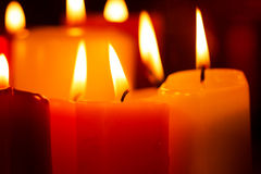 Candlelight Celebration Royalty Free Stock Images