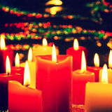 Candlelight Celebration Royalty Free Stock Photos