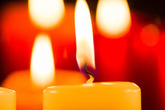 Candlelight Celebration Royalty Free Stock Photo