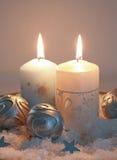 candlelight christmas Στοκ φωτογραφίες με δικαίωμα ελεύθερης χρήσης