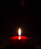 Candlelight. On dark background Royalty Free Stock Photography