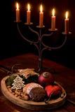 Candlelight Decoration Stock Photo