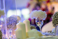 Candlelight Dinner Royalty Free Stock Photos