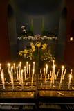 Candlelight för alla Arkivbild