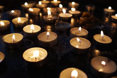 Candlelight. Images for commercial use Royalty Free Stock Photography