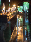 Candlelight in kiyomizu temple. Kyoto,Japan - June 28, 2014 : candlelight in kiyomizu temple Royalty Free Stock Image