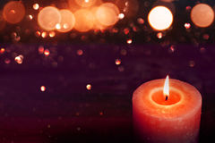 Candlelight for romantic moments Royalty Free Stock Image