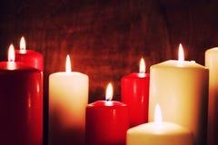 Candlelight set love Royalty Free Stock Photo