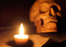 Candlelight. Royalty Free Stock Photo