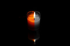 CandlelightAroma and relaxation. Royalty Free Stock Images