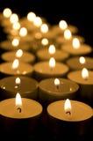 Candlelights Στοκ φωτογραφία με δικαίωμα ελεύθερης χρήσης