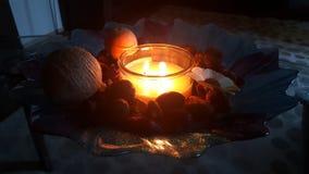 candlelit lizenzfreie stockfotografie