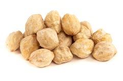 Candlenut, een kruid dat in Aziatische keuken wordt gebruikt Royalty-vrije Stock Afbeeldingen