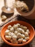Candlenuts stock afbeeldingen