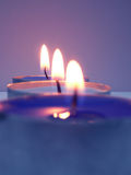 Candles. Lighted Royalty Free Stock Images