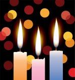 Candles stock illustration