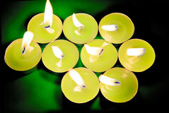 Candles. Royalty Free Stock Photos