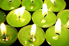 Candles. Royalty Free Stock Photo