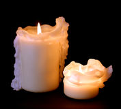 drippy candles Royalty Free Stock Photography