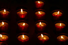 Candles. Many Candles Royalty Free Stock Photo