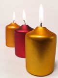 Candles. Festive Candles Royalty Free Stock Image