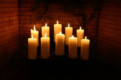 Candles #3 royalty free stock photo