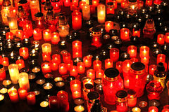 Free Candles Royalty Free Stock Photography - 34921077