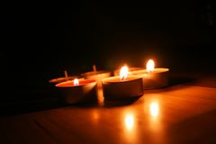 Candles Stock Image