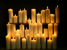 Candles Stock Photography