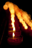 Candles background Royalty Free Stock Photos