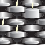 Candles. Stock Images