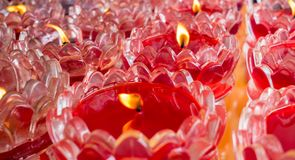 candles in bowls royalty free stock images