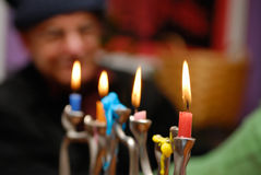The Candles Are Burning Bright… stock images