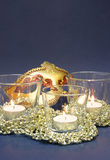 Candles and Carnival Mask Royalty Free Stock Photo