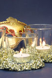 Candles and Carnival Mask Royalty Free Stock Images
