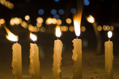 Candles in Ceremonies Royalty Free Stock Photos