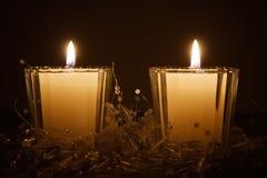 candles christmas Στοκ Εικόνες