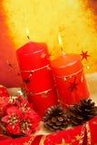 candles christmas Στοκ φωτογραφίες με δικαίωμα ελεύθερης χρήσης