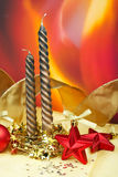 Candles of Christmas Royalty Free Stock Photography
