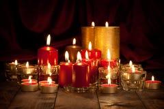 Candles - christmas decoration Stock Photo