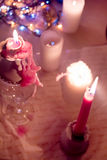 Candles. Christmas Royalty Free Stock Photography